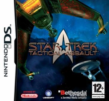 STAR TREK TACTICAL ASSAULT NINTENDO DS NUOVO