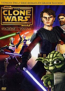 STAR WARS THE CLONE WARS 1 - DVD