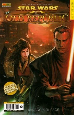 STAR WARS THE OLD REPUBLIC 1 MINACCIA DI PACE - PANINI COMICS BEST SELLER 4