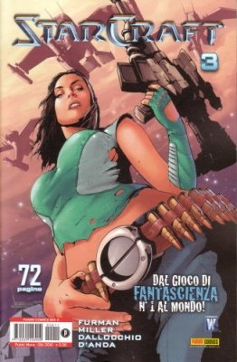 STARCRAFT 3 - PANINI COMICS MIX 11