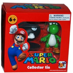 SUPER MARIO COLLECTOR TIN - YOSHI E BULLET BILL