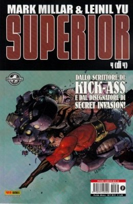 SUPERIOR 4 - PANINI COMICS MIX 33