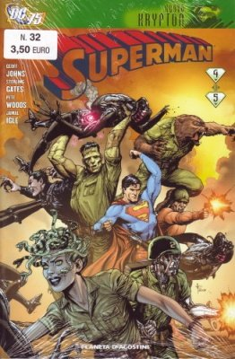 SUPERMAN 32 - NUOVO KRYPTON 4 (DI 5)