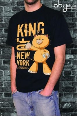 T-SHIRT BLEACH - TG. L - KING OF NEW YORK