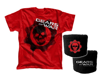 T-SHIRT GEARS OF WAR - TG. L + POLSINO
