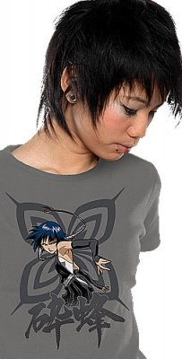 T-SHIRT GIRL BLEACH SOI-FON - TG. L