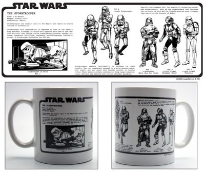 TAZZA ENCICLOPEDIA THE STORMTROOPER STAR WARS