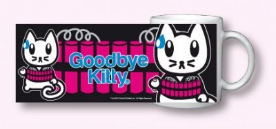 TAZZA GOODBYE KITTY