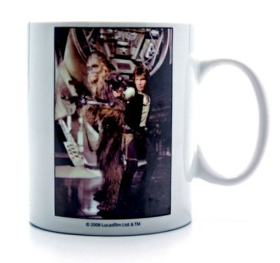 MUG HAN & CHEWBACCA STAR WARS MOVIE