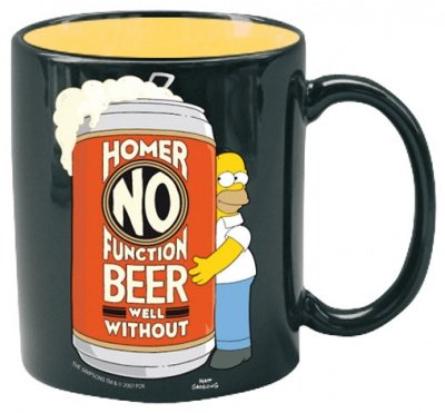 TAZZA HOMER SIMPSONS NO FUNCTION