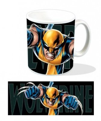 TAZZA MARVEL WOLVERINE LEAPING