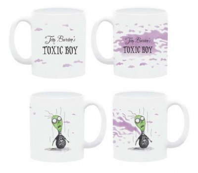 TAZZA TIM BURTON TOXIC BOY