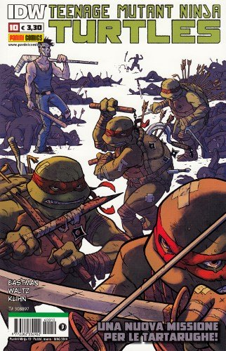TEENAGE MUTANT NINJA TURTLES 10