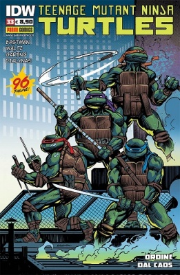 TEENAGE MUTANT NINJA TURTLES 33