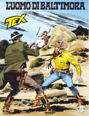 TEX N. 591 - L'UOMO DI BALTIMORA