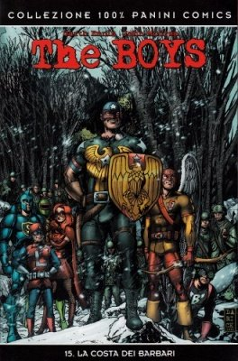 THE BOYS 15 - LA COSTA DEI BARBARI - 100% PANINI COMICS