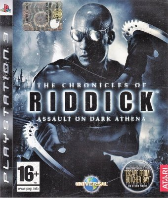 THE CHRONICLES OF RIDDICK PS3 USATO GARANTITO