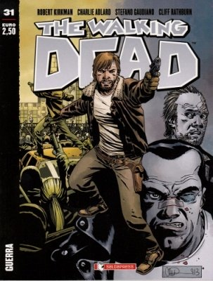 THE WALKING DEAD 31 - GUERRA COVER A