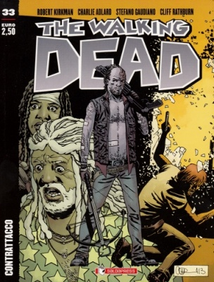 THE WALKING DEAD 33 - CONTRATTACCO COVER B