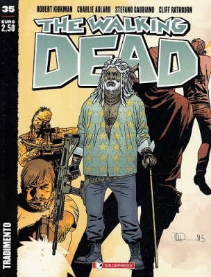 THE WALKING DEAD 35 - TRADIMENTO COVER A