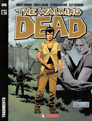 THE WALKING DEAD 35 - TRADIMENTO COVER B