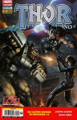 THOR 190 - THOR DIO DEL TUONO 20 ALL-NEW MARVEL NOW!
