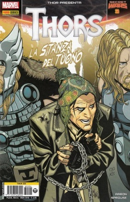 THOR 204 - THOR PRESENTA THORS 3 - SECRET WARS 3