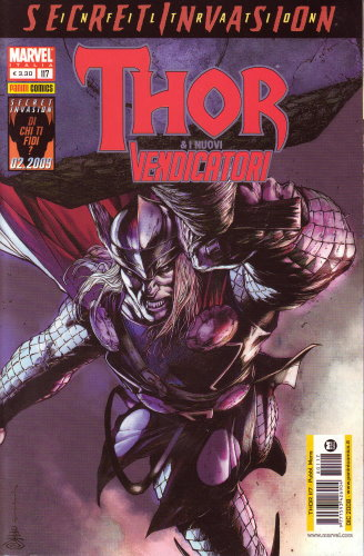 THOR & I NUOVI VENDICATORI 117