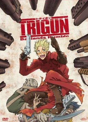 TRIGUN BANLANDS RUMBLE 2 DVD