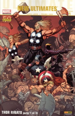 ULTIMATE COMICS 5 - NEW ULTIMATES 1 - THOR RINATO 1