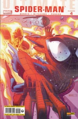 ULTIMATE COMICS SPIDER-MAN 4