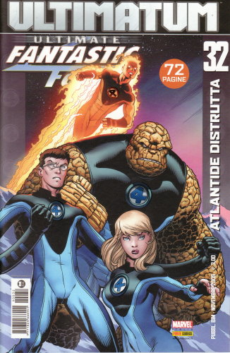 ULTIMATE FANTASTIC FOUR 32 - ATLANTIDE DISTRUTTA