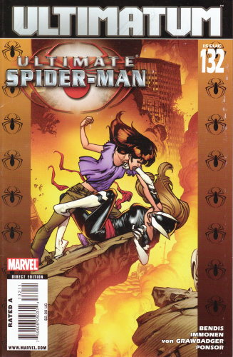 ULTIMATE SPIDER-MAN 132 ULTIMATUM EDIZIONE AMERICANA