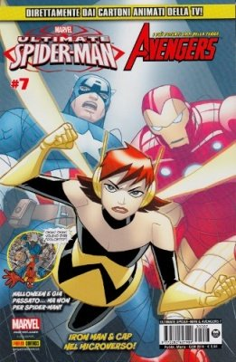 ULTIMATE SPIDER-MAN & GLI AVENGERS 7