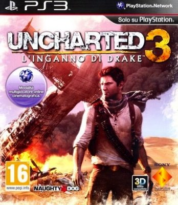 UNCHARTED 3 L'INGANNO DI DRAKE PS3 NUOVO