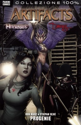 WITCHBLADE DARKNESS ARTIFACTS PROGENIE - 100% PANINI COMICS