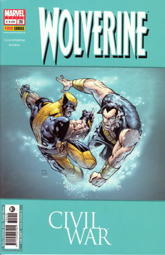 WOLVERINE 210 CIVIL WAR