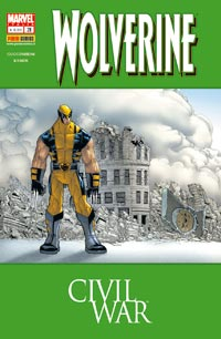 WOLVERINE 211 CIVIL WAR