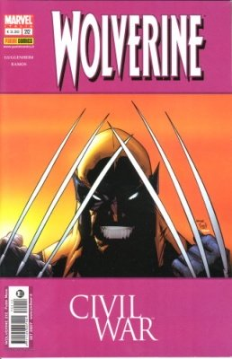 WOLVERINE 212 CIVIL WAR