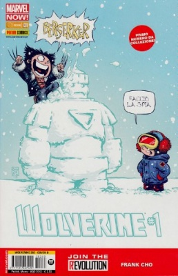 WOLVERINE 283 COVER B SKOTTIE YOUNG - WOLVERINE 1 MARVEL NOW!
