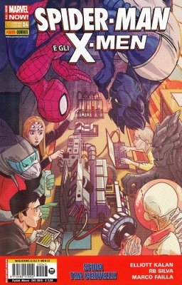 WOLVERINE E GLI X-MEN 43 - SPIDER-MAN E GLI X-MEN 4