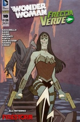 WONDER WOMAN E FRECCIA VERDE N. 10