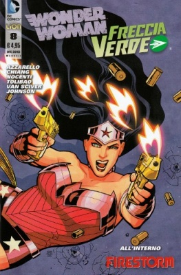 WONDER WOMAN E FRECCIA VERDE N. 8