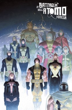 X-MEN LA BATTAGLIA DELL'ATOMO OMEGA VARIANT COVER ESAD RIBIC - MARVEL WORLD 22
