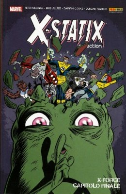 X-STATIX COLLECTION 2 - X-FORCE CAPITOLO FINALE