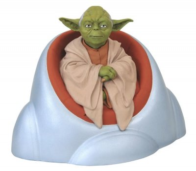 YODA STAR WARS BUSTO SALVADANAIO JEDI COUNCIL