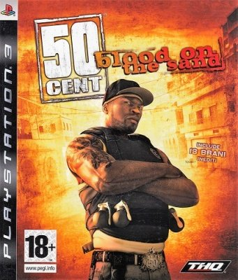 50 CENT BLOOD ON THE SAND PS3 USATO GARANTITO