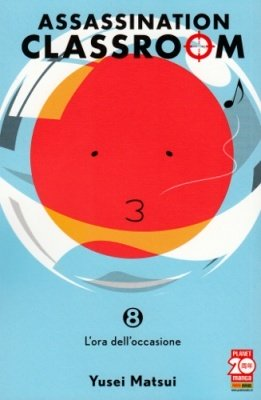 ASSASSINATION CLASSROOM 8 RISTAMPA