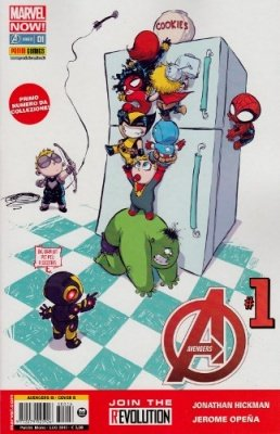 AVENGERS 16 COVER B SKOTTIE YOUNG - AVENGERS 1 MARVEL NOW!