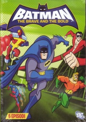 BATMAN THE BRAVE AND THE BOLD 3 DVD